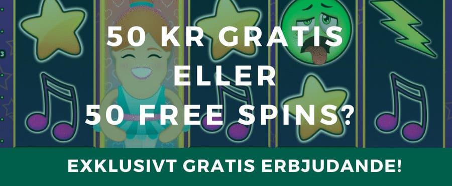 Gratis free spins och bonusar