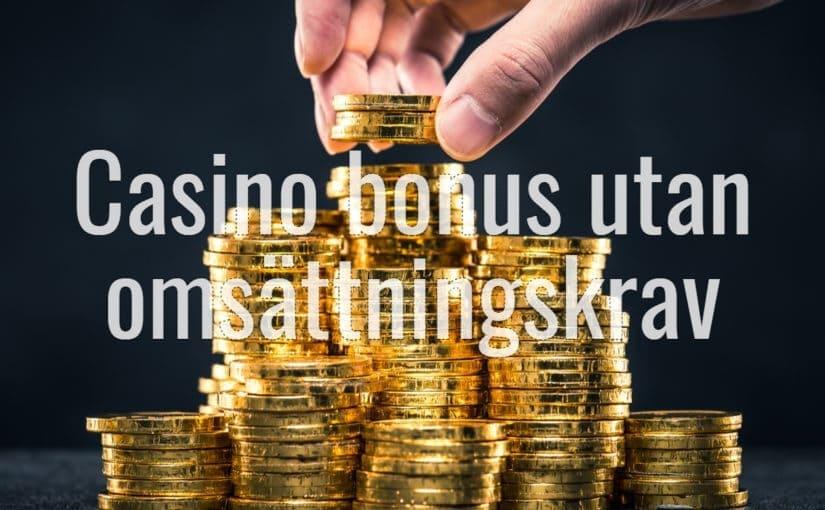 Typer av casino bonus
