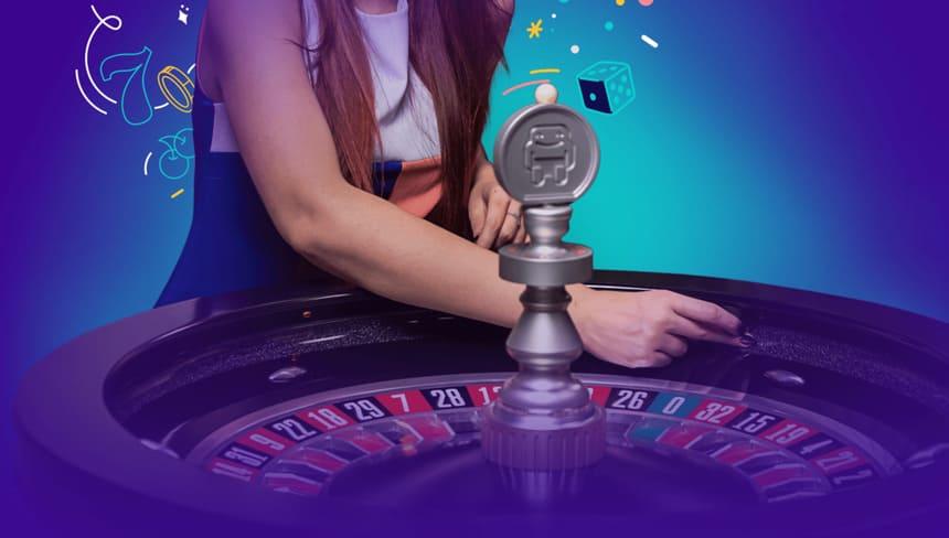 Roulette på live casino?